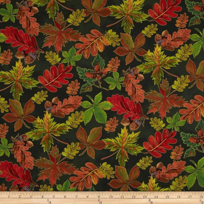 golden harvest leaves green