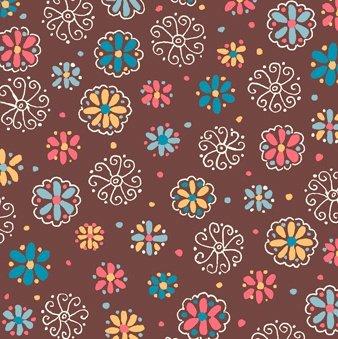 chelsea sm floral brown