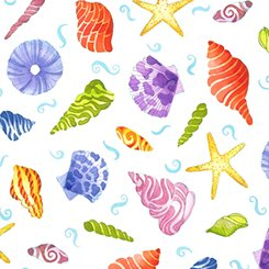 JEWELS of the sea seashells white