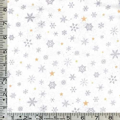 woodland wonder snowflake grey