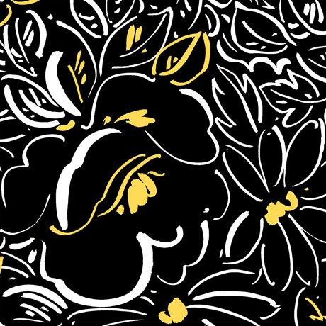 fiona contempo floral black