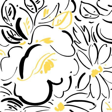Fiona Contempo Floral White