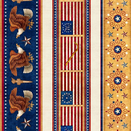 AMERICAN PRIDE STRIPE CREAM