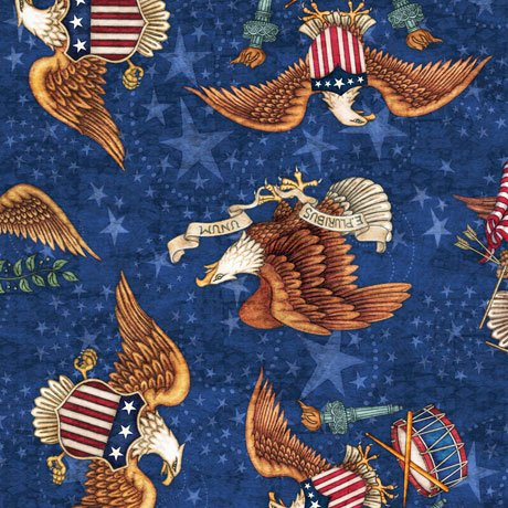 AMERICAN PRIDE EAGLE TOSS DENIM