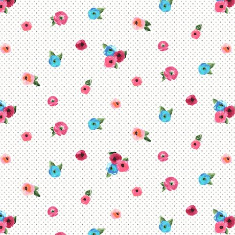 SWEET caroline small floral w/dots
