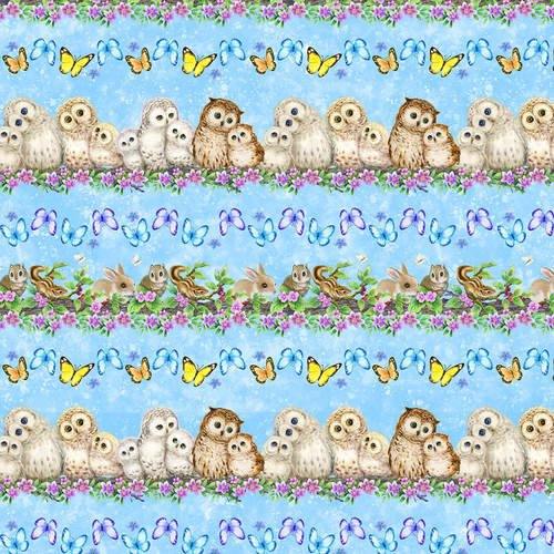 epic owls border stripe