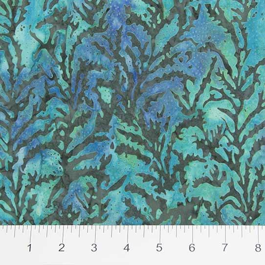 ikat sketch batik aqua