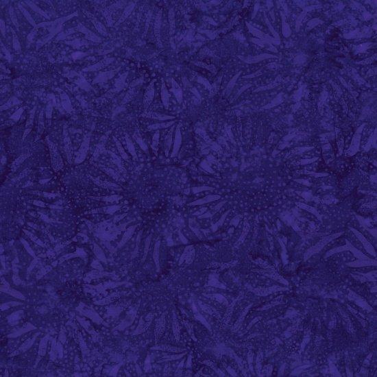 BATIK bali chop sunflower violet batik