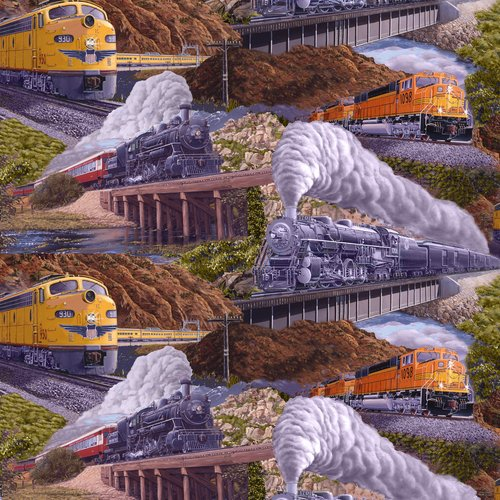 locomotion scenic trains