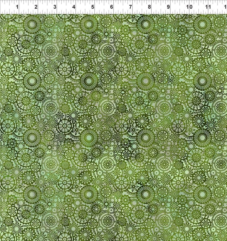 seasons lace green