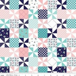 COUNTRY girls patchwork pink