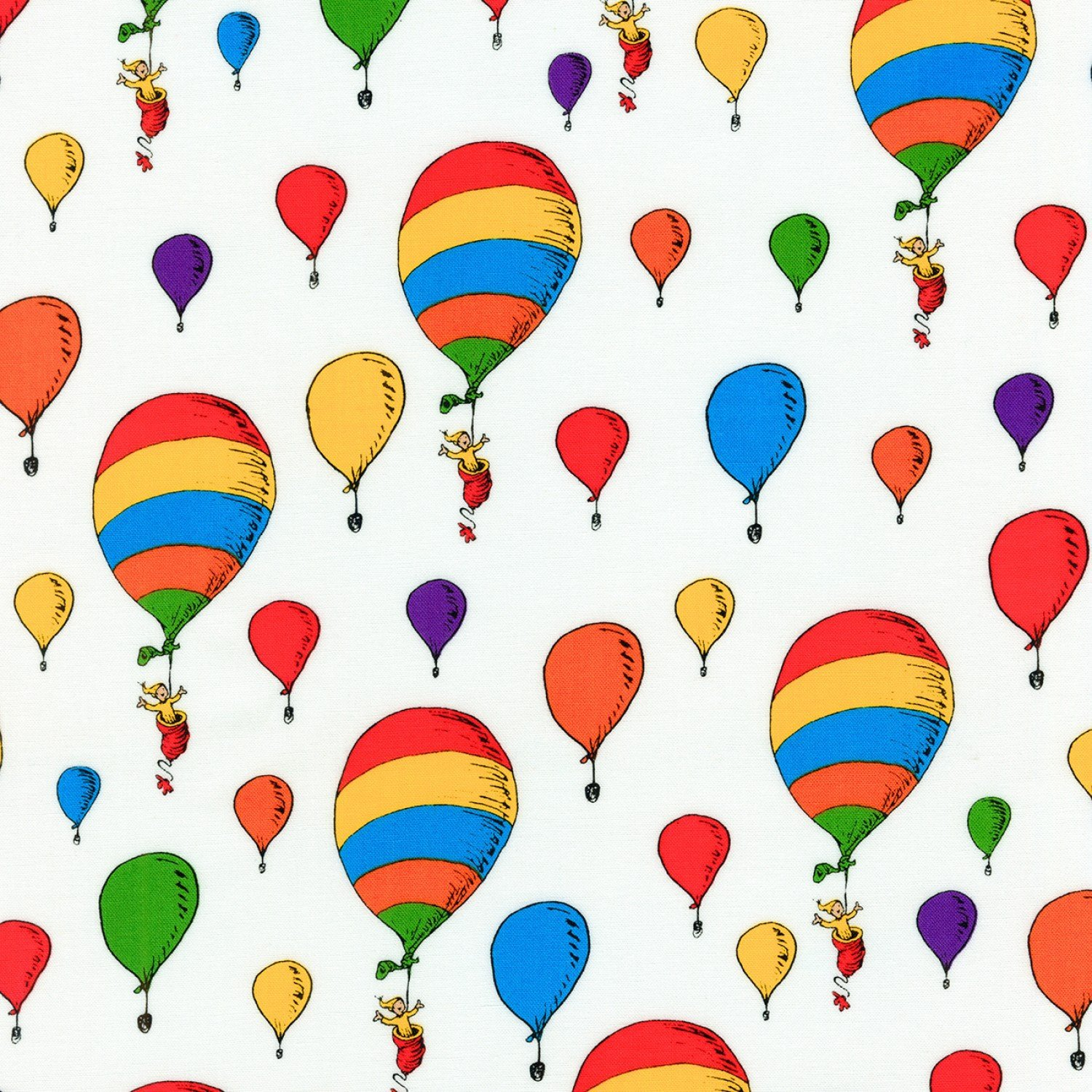 OH THE PLACES YOU'LL GO BALLOONS- DR SUESS