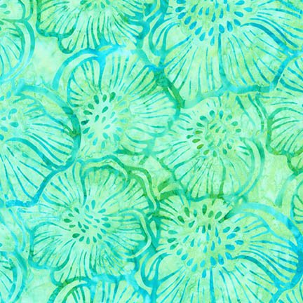 GREENHOUSE SWEET PEA BATIK