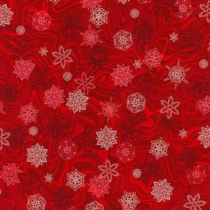 holiday flourish 11 scarlet