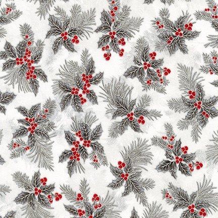 holiday flourish silver 12
