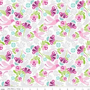 FLIT and bloom birds pink