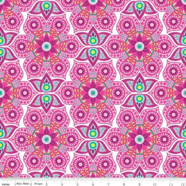 Flit And Bloom Mandala Pink