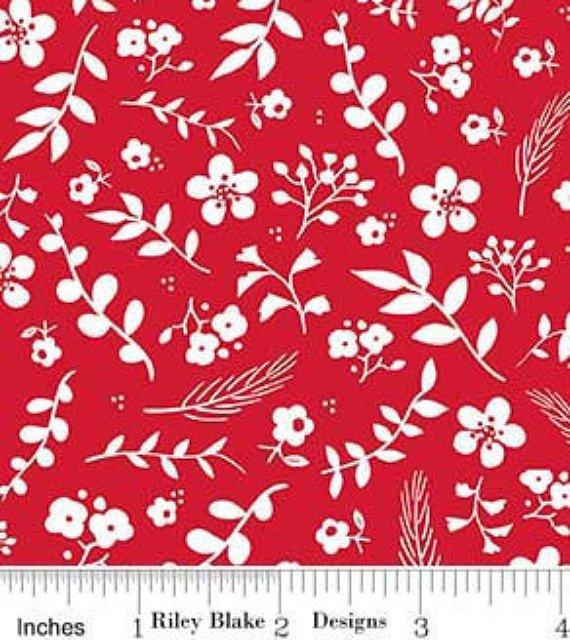 SWEET prairie red floral