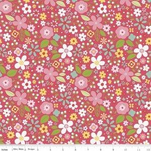 garden floral raspberry