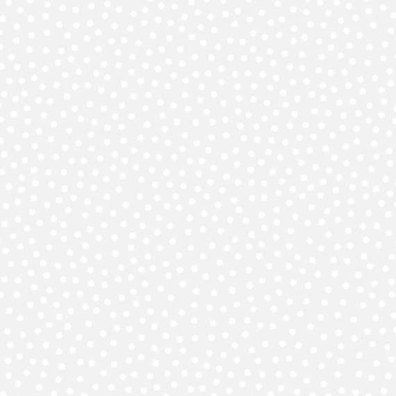Scattered Dots White on Grey