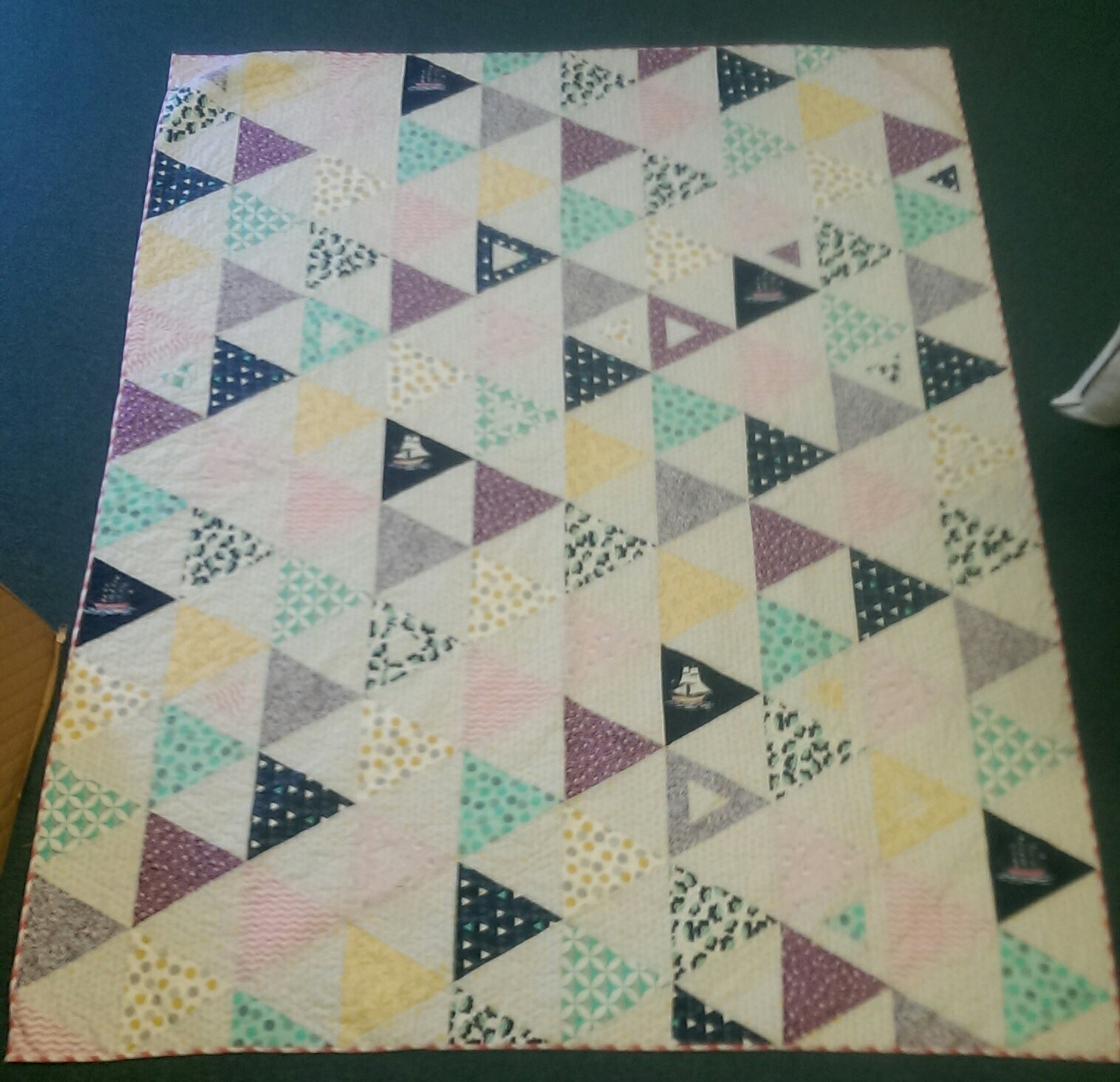 EQUAL RIGHTS QUILT CLASS : 60 degree triangle quilt - Adamdwight.com