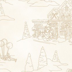 gingerbread christmas toile