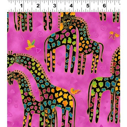mythical jungle giraffe