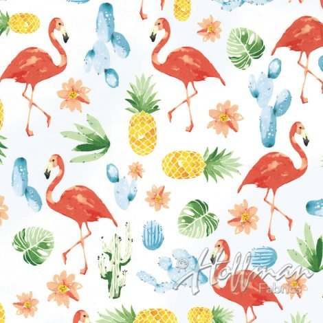 SUMMER punch flamingo