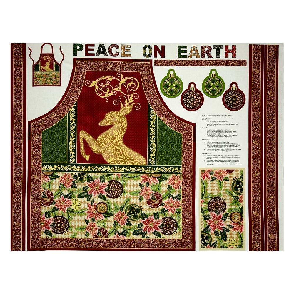 Peace On Earth Apron