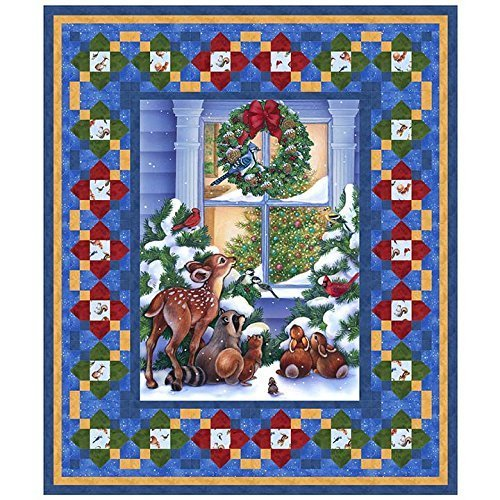 woodland garland quilt kit w/pattern