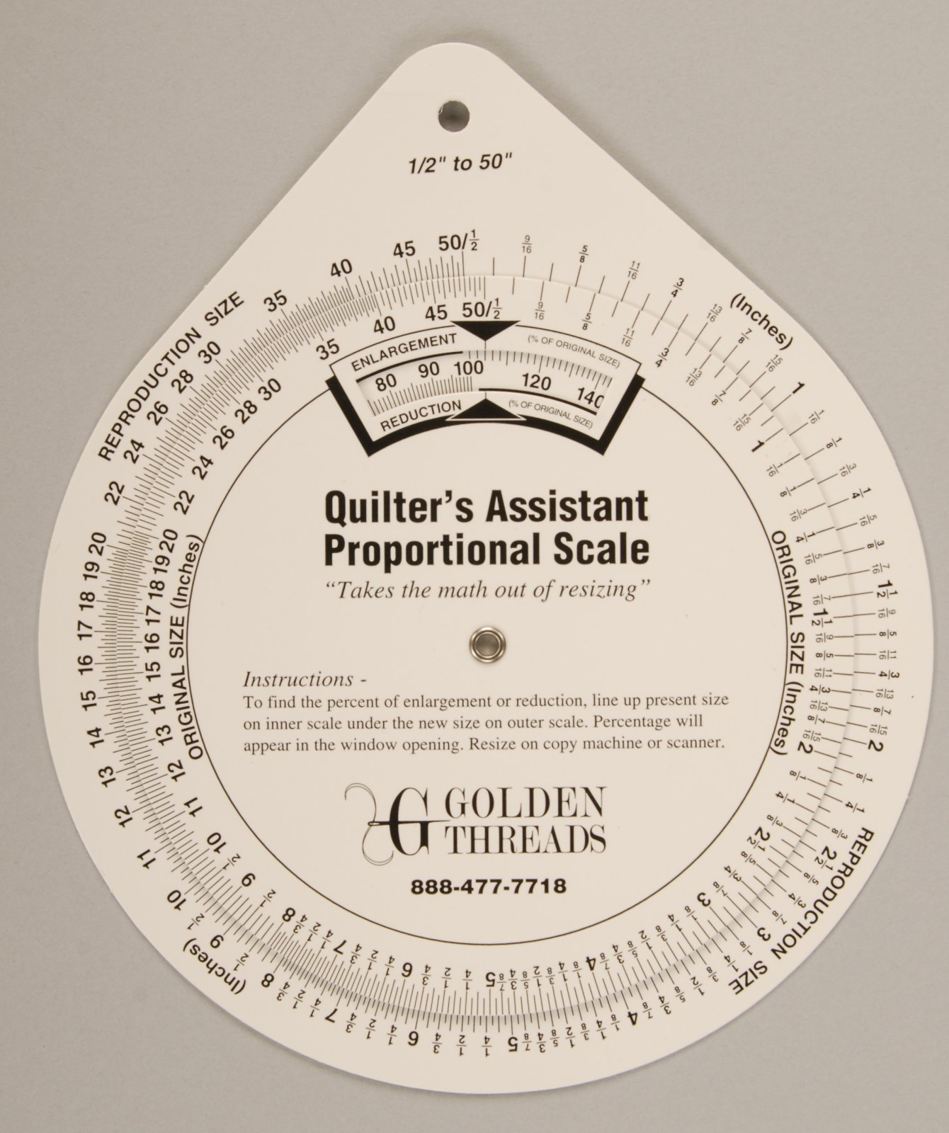 Artists Proportional Scale