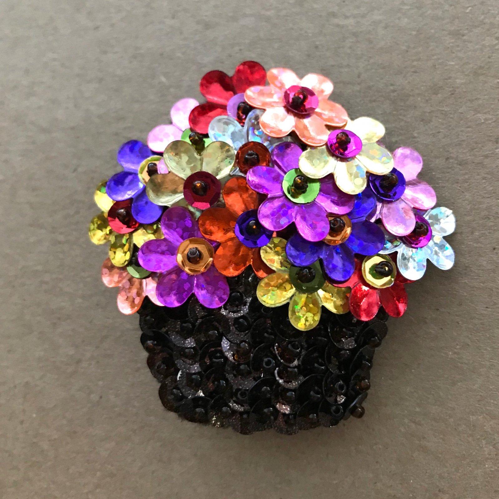Beautiful Brooches - Basket of Flowers E-Pattern