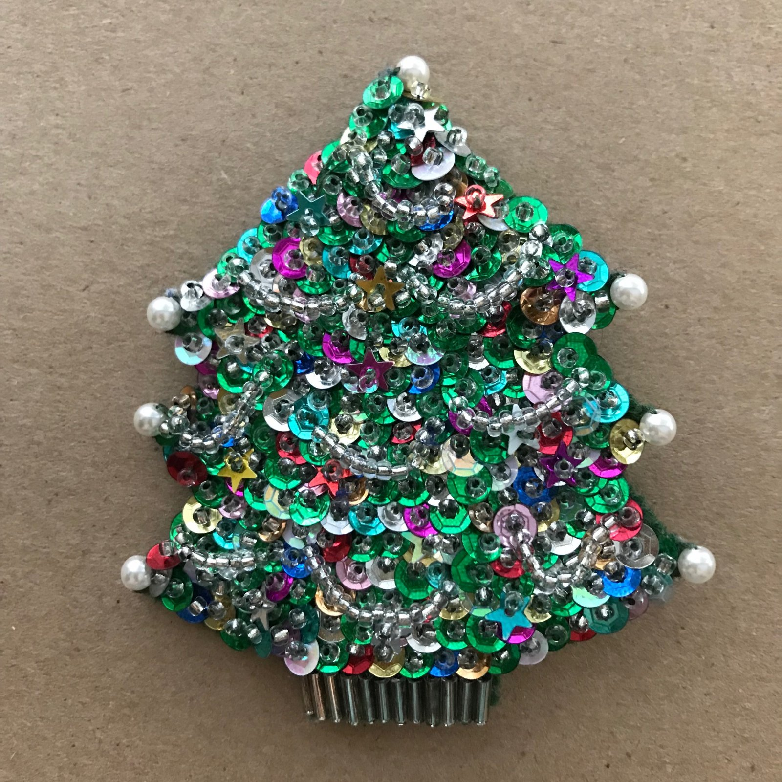 Beautiful Brooches - Christmas Tree E-Pattern