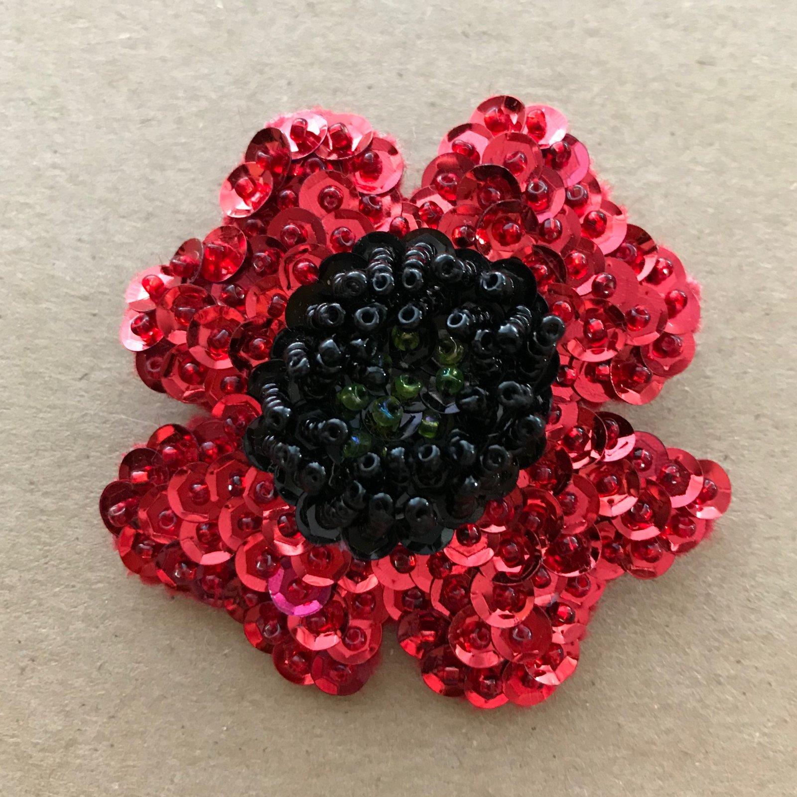 Beautiful Brooches - Poppy E-Pattern