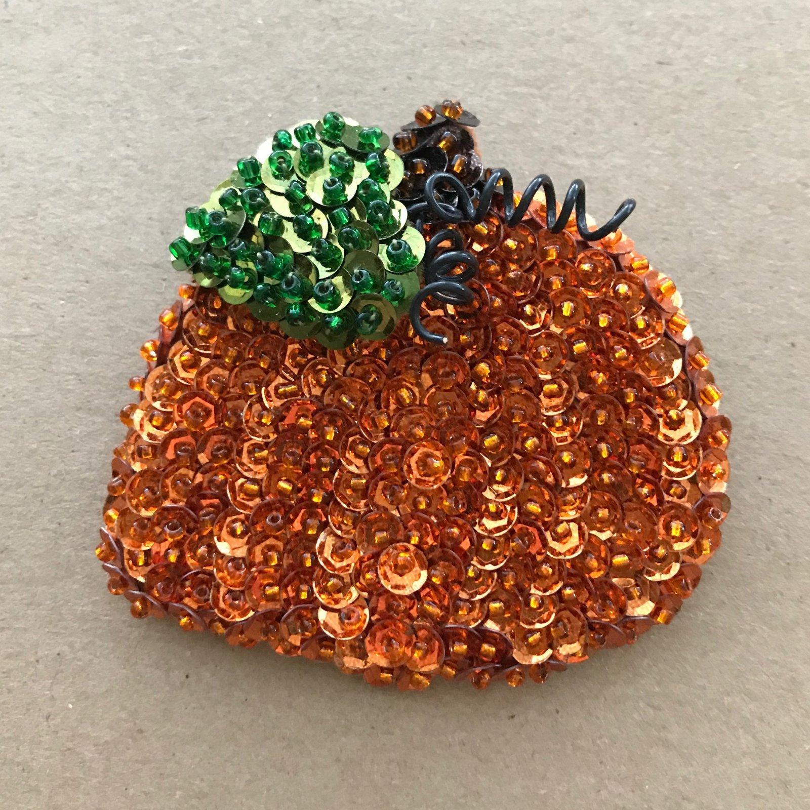 Beautiful Brooches - Pumpkin E-Pattern