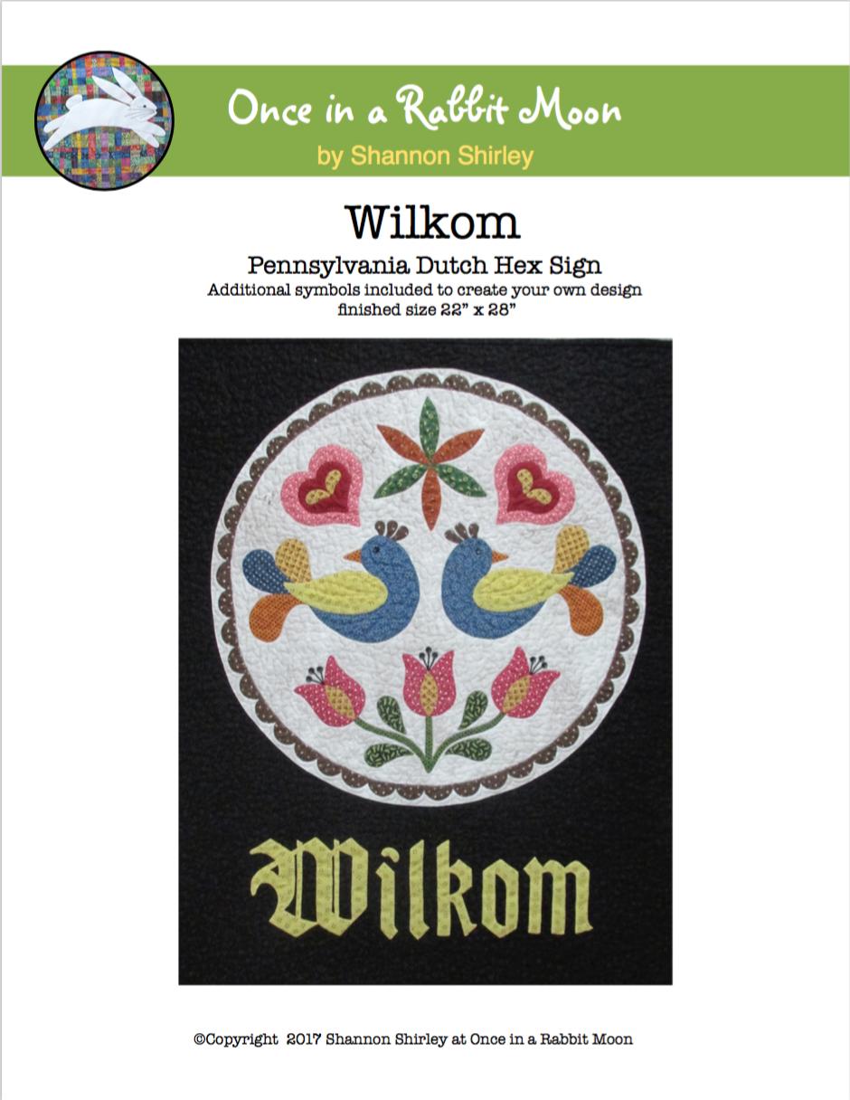 Wilkom - Pennsylvania Dutch Hex Sign E-Pattern