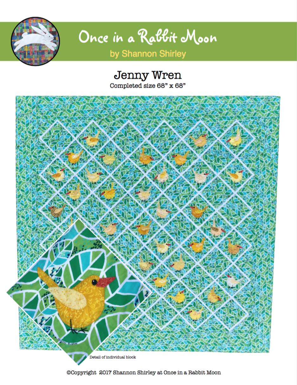 Jenny Wren E-Pattern