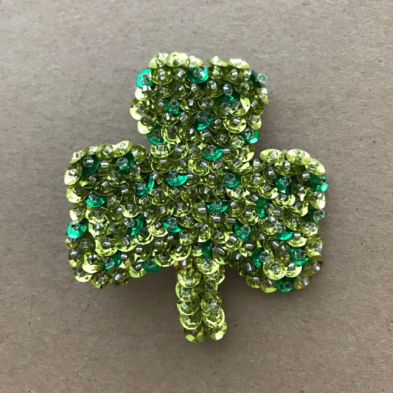 Beautiful Brooches - Shamrock E-Pattern