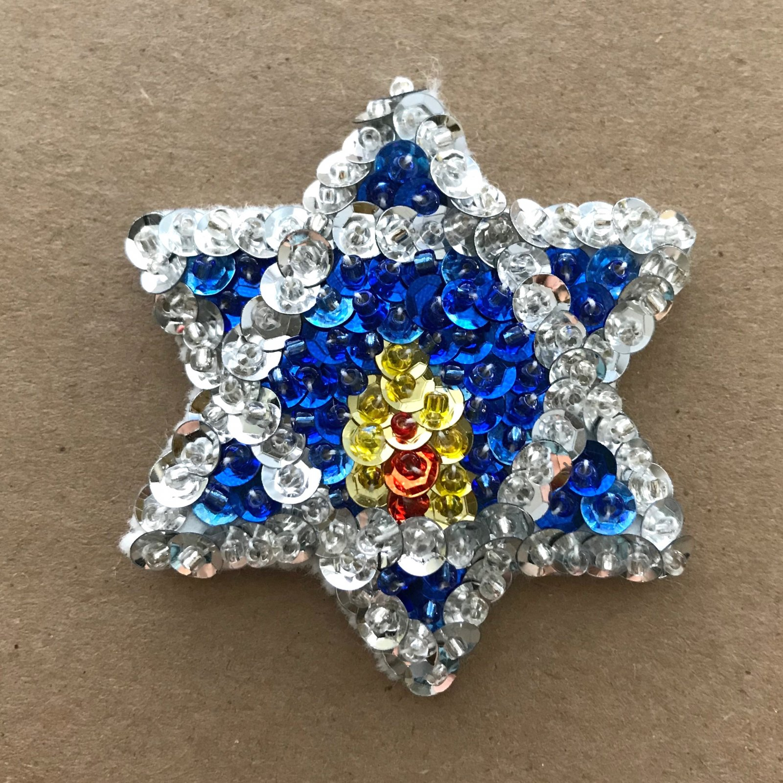 Beautiful Brooches - Star of David E-Pattern