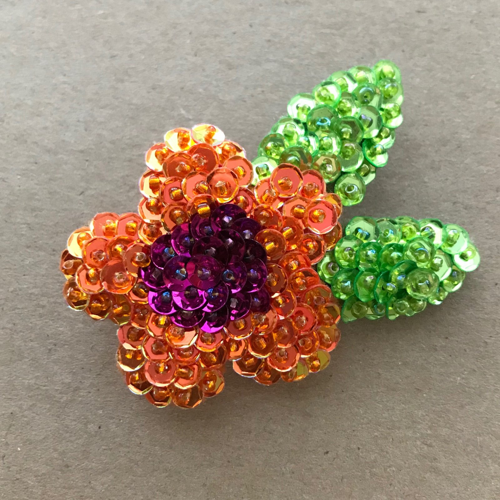 Beautiful Brooches - Tropical Flower E-Pattern