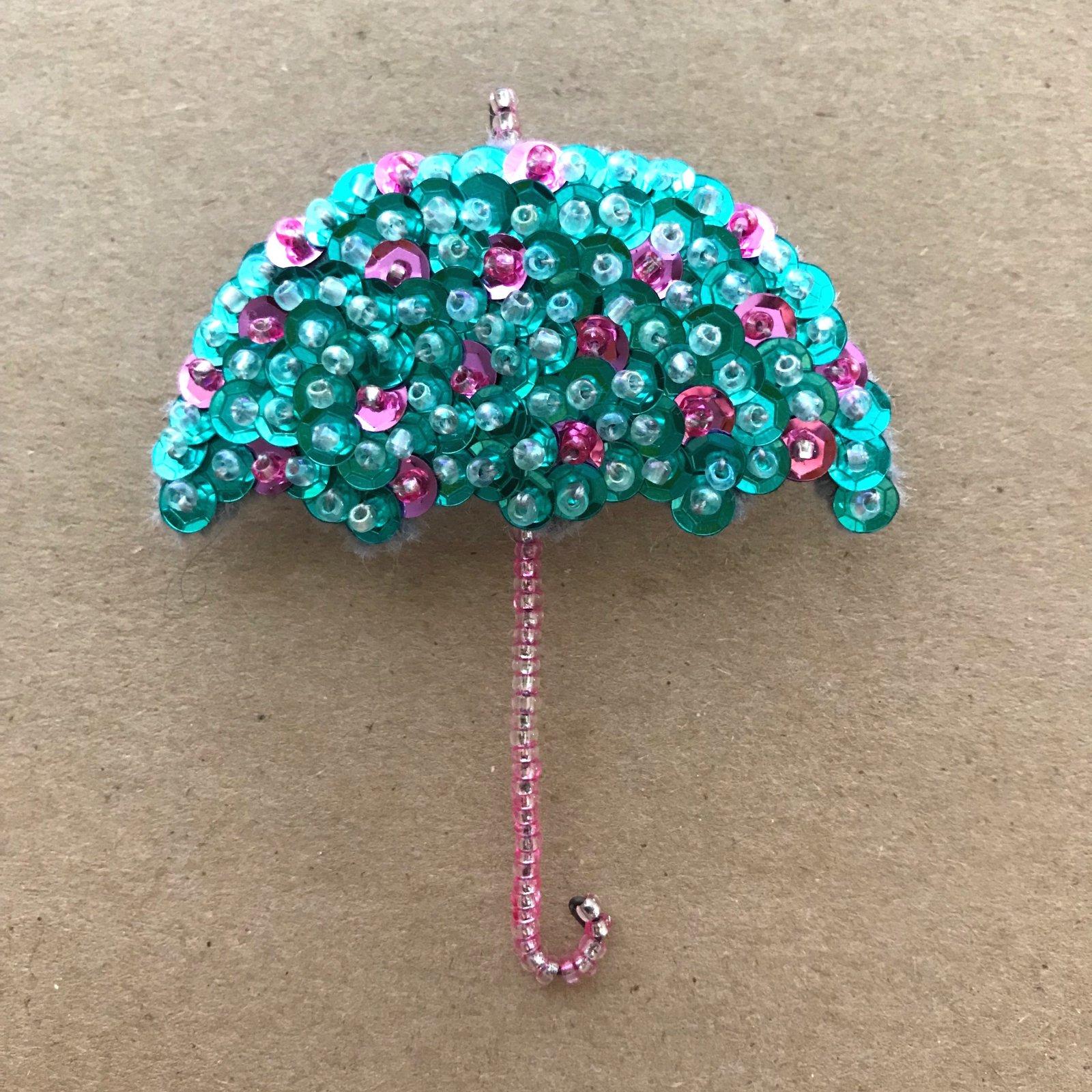Beautiful Brooches - Umbrella E-Pattern