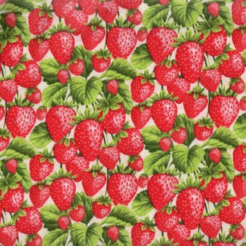 Fabri-Quilt Fresh Harvest Strawberries 112-28661