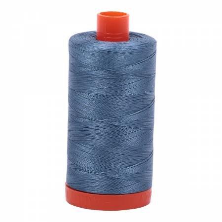 Aurifil 50wt 1422yd 1126 Blue Gray