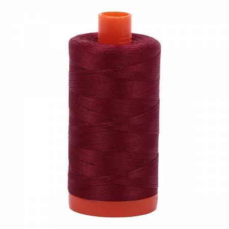 Aurifil 50wt 1422yd 2460 Dark Carmine Red