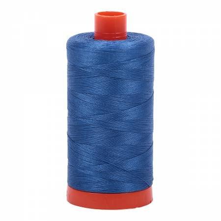 Aurifil 50wt 1422yd 2730 Delft Blue