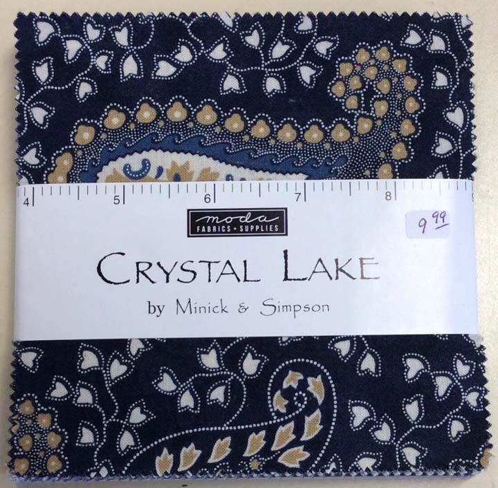 Crystal Lake Moda Charm Pack