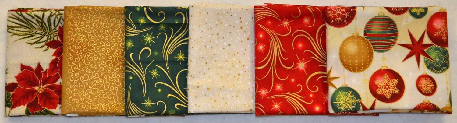 December fat quarter bundle