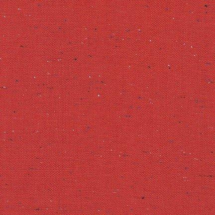 Robert Kaufman Essex Speckle Yarn Dye E134-1308 Red
