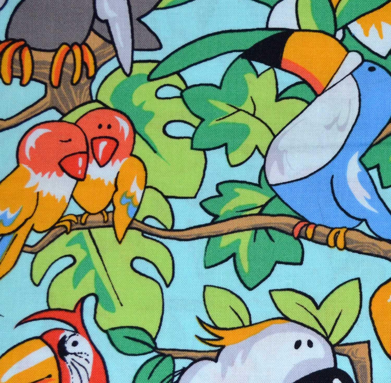 Fabri-Quilt Zany Zoo Birds 112-27881