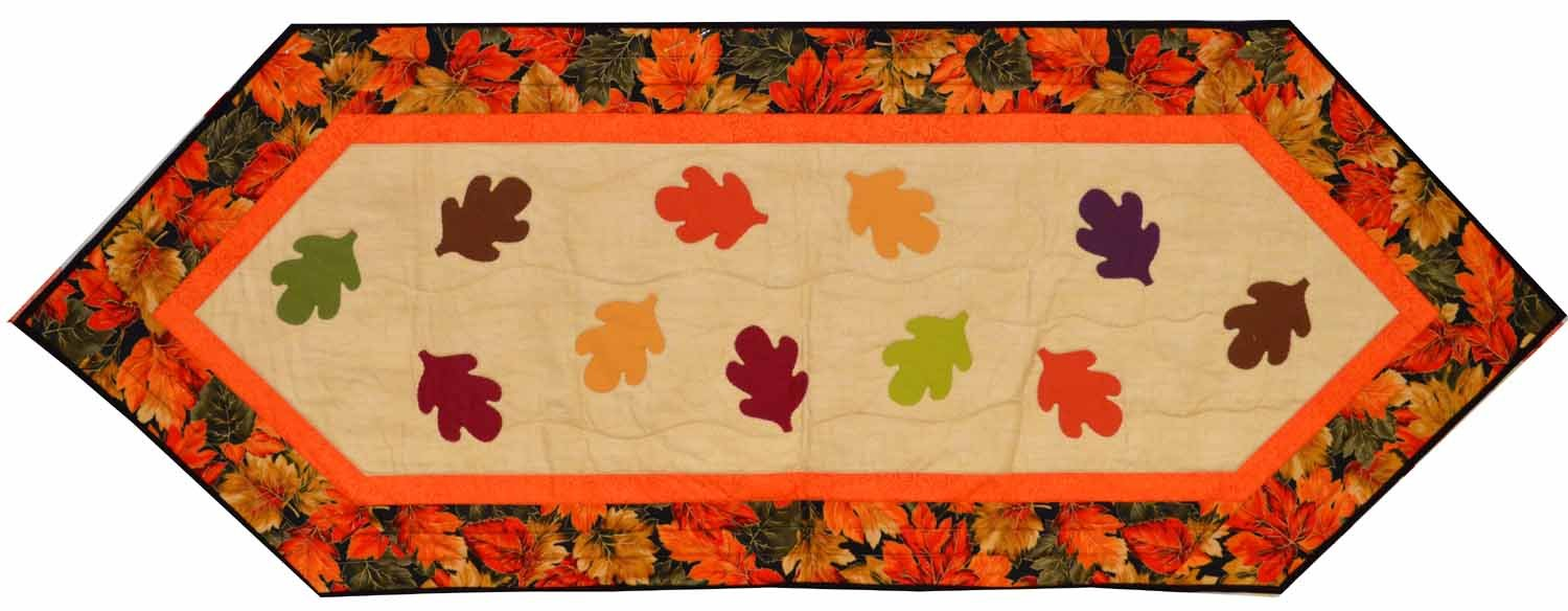 Fall Leaves Table Runner (CLH)